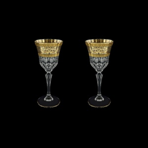 Adagio C4 AALK Wine Glasses 150ml 2pcs in Allegro Golden Light Decor (65-642/2/L)