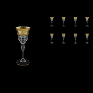 Adagio C5 AALK Liqueur Glasses 80ml 8pcs in Allegro Golden Light Decor (65-641/8/L)