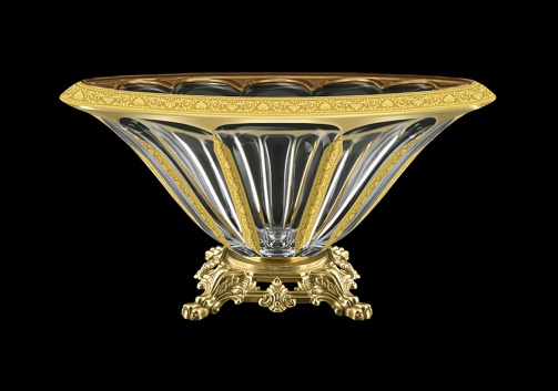 Panel MVZ PNGC B Large Bowl 33cm 1pc in Romance Golden Classic Decor (33-326/O.25)