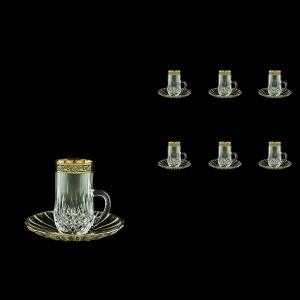 Opera ES OMGB Espresso 50ml 6pcs in Lilit Golden Black Decor (31-502/6)