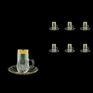 Opera ES ONGC Espresso 50ml 6pcs in Romance Golden Classic Decor (33-502/6)
