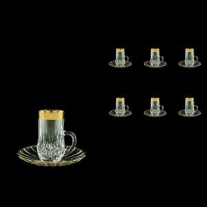 Opera ES ONGC Espresso 50ml 6pcs in Romance Golden Classic Decor (33-502/6)