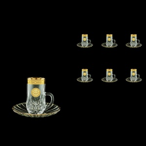 Opera ES OOGC Espresso 50ml 6pcs in Romance&Leo Golden Classic Decor (43-502/6)