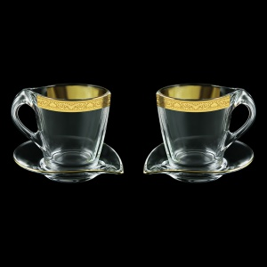Mamanonmama CA MNGC Cappuccino 260ml 2pcs in Romance Golden Classic Decor (33-333/2)