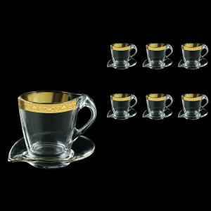 Mamanonmama CA MNGC Cappuccino 260ml 6pcs in Romance Golden Classic Decor (33-333/6)