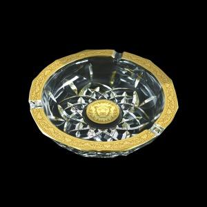 Opera PO OOGC Ashtray d17,5cm 1pc in Romance&Leo Golden Classic Decor (43-406)