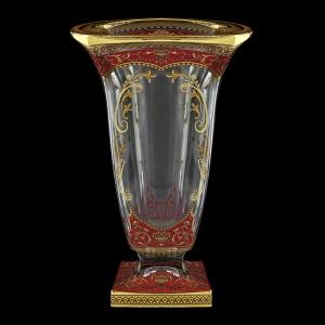 Bohemia Magma VV MEGR H Vase 33cm 1pc in Flora´s Empire Golden Red Decor+H (22-343/H)