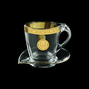 Mamanonmama CA MOGC Cappuccino 260ml 1pc in Romance&Leo Golden Classic Decor (43-333)