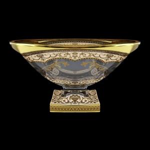 Bohemia Magma MV MEGI H Bowl d34cm 1pc in Flora´s Empire Golden Ivory Decor+H (25-344/H)