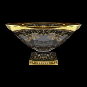 Bohemia Magma MV MEGB H Bowl d34cm 1pc in Flora´s Empire Golden Black Decor+H (26-344/H)