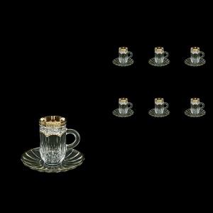 Opera ES OEGW Espresso 50ml 6pcs in Flora´s Empire Golden White Decor (21-503/6)