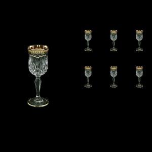 Opera C5 OEGB Liqueur Glasses 60ml 6pcs in Flora´s Empire Golden Black Decor (26-651)
