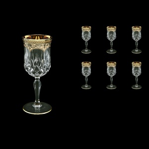 Opera C3 OEGI Wine Glasses 160ml 6pcs in Flora´s Empire Golden Ivory Decor (25-653)