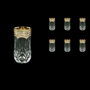 Opera B9 OEGI Water Glasses 240ml 6pcs in Flora´s Empire Golden Ivory Decor (25-658)