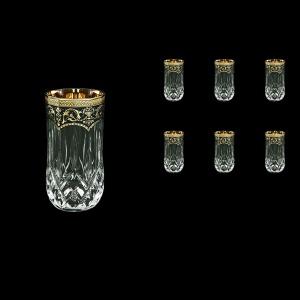 Opera B9 OEGB Water Glasses 240ml 6pcs in Flora´s Empire Golden Black Decor (26-658)
