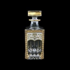 Opera WD OEGW Whisky Decanter 750ml 1pc in Flora´s Empire Golden White Decor (21-661)