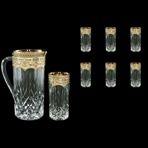 Opera Set J+B0 OEGW 1200ml+6x350ml in Flora´s Empire Golden Ivory Decor (25-660/659)