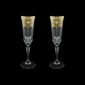 Adagio CFL AELK Champagne Flutes 180ml 2pcs in F. Empire G. Crystal Light (20-594/2/L)