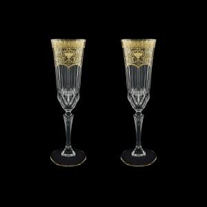 Adagio CFL AELK Champagne Flutes 180ml 2pcs in F. Empire G. Crystal Light (20-594/2/L)