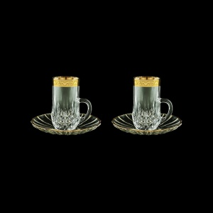 Opera ES ONGC Espresso 50ml 2pcs in Romance Golden Classic Decor (33-502/2)