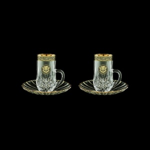 Opera ES OOGB Espresso 50ml 2pcs in Lilit&Leo Golden Black Decor (41-502/2)