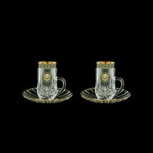 Opera ES OLGB Espresso 50ml 2pcs in Antique&Leo Golden Black Decor (42-502/2)