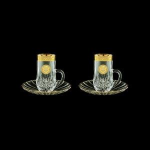 Opera ES OOGC  Espresso 50ml 2pcs in Romance&Leo Golden Classic Decor (43-502/2)