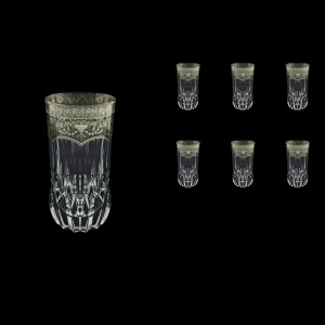 Adagio B0 AESK Water Glasses 400ml 6pcs in Flora´s Empire Pl. Crystal Light (20-1/596/L)
