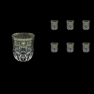 Adagio B2 AESK Whisky Glasses 350ml 6pcs in Flora´s Empire Pl. Crystal Light (20-1/595/L)