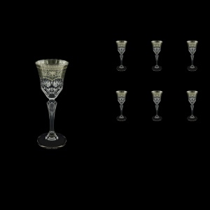 Adagio C5 AESK Liqueur Glasses 80ml 6pcs in Flora´s Empire Pl. Crystal Light (20-1/590/L)