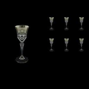 Adagio C5 AESK Liqueur Glasses 80ml 6pcs in Flora´s Empire Pl. Crystal Light (20-1/590/L)