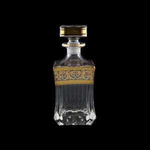 Adagio WD AALK Whisky Decanter 820ml 1pc in Allegro Golden Light Decor (65-649/L)
