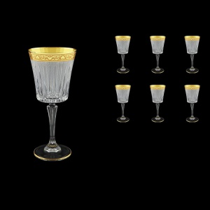 Timeless C2 TNGC S Wine Glasses 298ml 6pcs in Romance Golden Classic Decor+S (33-130)