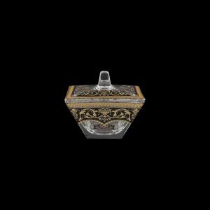 Torcello DO TELB Dose 11x11cm 1pc in Flora´s Empire Golden Black Light (26-508/L)