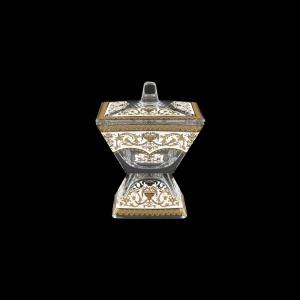Torcello DOC TELW Dose w/F 11x11cm 1pc in Flora´s Empire Golden White Light (21-709/L)
