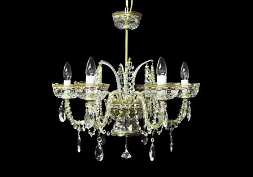 Chandelier Opera CH6 OELW RM 6arms 1pc in Flora´s Empire Golden White Light (21-4018/6c/L)