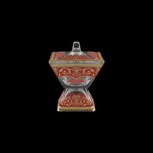 Torcello DOC TELR Dose w/F 11x11cm 1pc in Flora´s Empire Golden Red Light (22-709/L)
