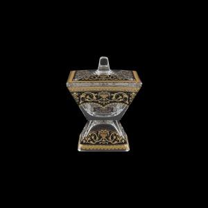 Torcello DOC TELB Dose w/F 11x11cm 1pc in Flora´s Empire Golden Black Light (26-709/L)
