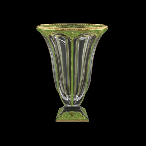 Panel VV PEGG B Vase 36cm 1pcin Flora´s Empire Golden Green Decor (24-663)