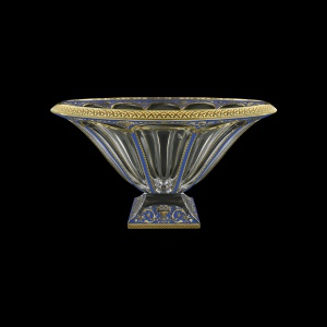 Panel MV PEGC B Large Bowl 37,5cm 1pc in Flora´s Empire Golden Blue Decor (23-664)