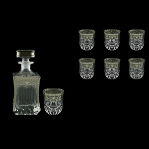 Adagio Set WD+B2 AESK 820ml+6x350ml in Flora´s Empire Pl. Crystal Light (20-1/598/595/L)