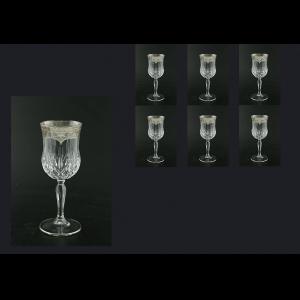 Opera C3 OESK Wine Glasses 160ml 6pcs in Flora´s Empire Pl. Crystal Light (20-1/653/L)
