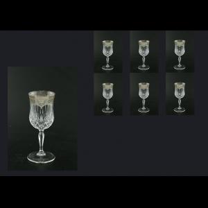 Opera C4 OESK Wine Glasses 120ml 6pcs in Flora´s Empire Pl. Crystal Light (20-1/652/L)