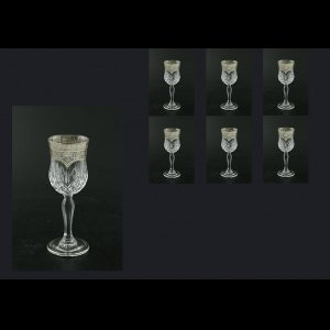 Opera C5 OESK Liqueur Glasses 60ml 6pcs in Flora´s Empire Pl. Crystal Light (20-1/651/L)