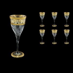 Fluente C2 FALK D Wine Glasses 291ml 6pcs in Allegro Golden Light Decor+D (66-750/L)