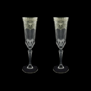 Adagio CFL AESK Champagne Flutes 180ml 2pcs in F. Empire P. Crystal Light (20-1/594/2/L)