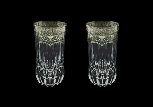 Adagio B0 AESK Water Glasses 400ml 2pcs in Flora´s Empire P. Crystal Light (20-1/596/2/L)