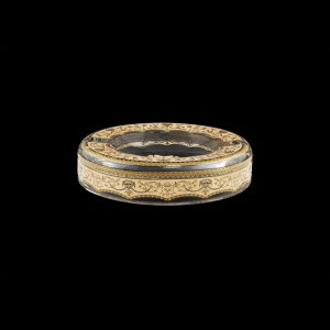 Look PO LELI Ashtray d18,5cm 1pc in Flora´s Empire Golden Ivory Light Decor (25-705/L)