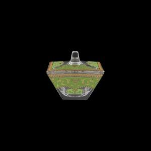 Torcello DO TELG Dose 11x11cm 1pc in Flora´s Empire Golden Green Light (24-508/L)