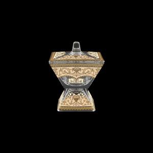 Torcello DOC TELI Dose w/F 11x11cm 1pc in Flora´s Empire Golden Ivory Light (25-709/L)